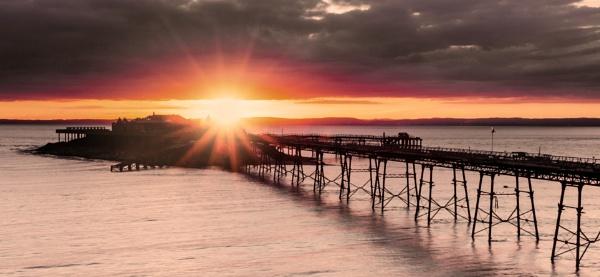 Birnbeck Pier by bloodhound