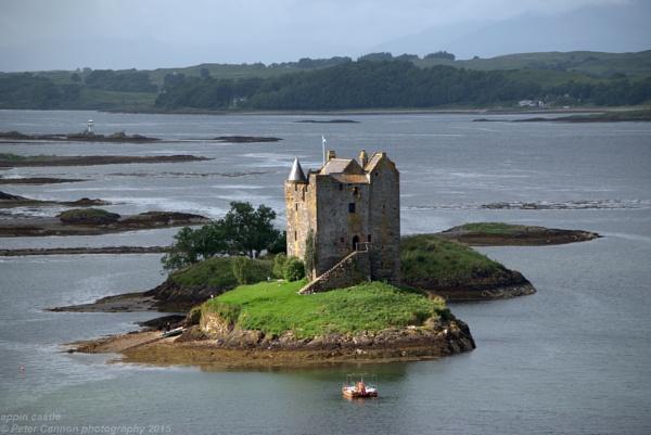 Castle Stalker (Appin Castle) by Peter_Cannon