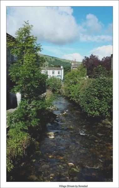 Village Stream by sonsdad