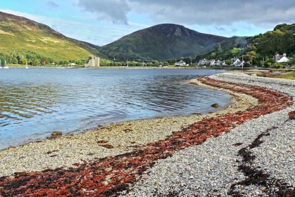 Lochranza, Isle of Arran, Scotland by jonlonbla