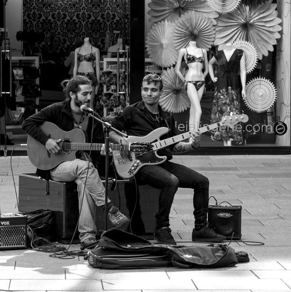 Street music  1-3. by franken