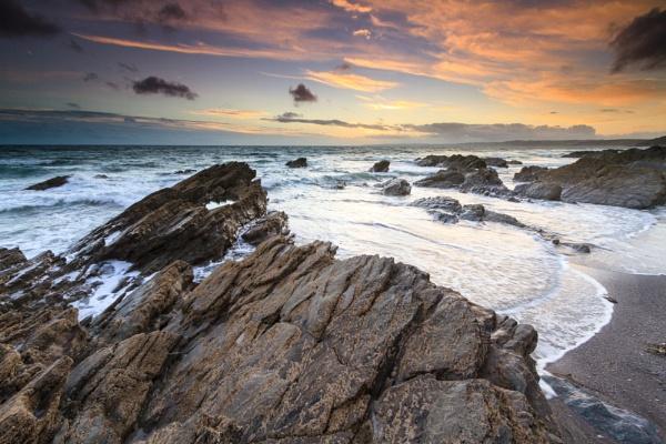 Whitsand Bay sunset by steve_eb