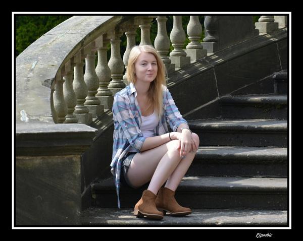 Jessica sitting pretty by probie