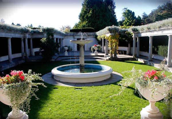 Dyffryn gardens - Roman Garden by Bonvilston