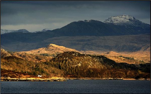 The Head of Loch Gairloch from Lonemeore by Otinkyad