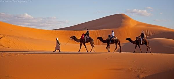 Erg Chebbi, Western Sahara, Morocco Camel Trek part 1 by brian17302