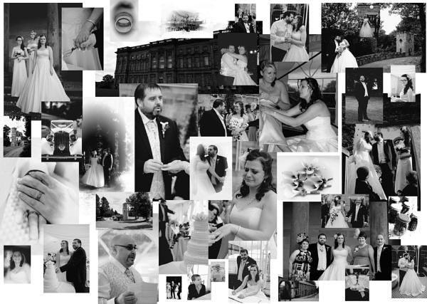 wedding picture wall by iajacks