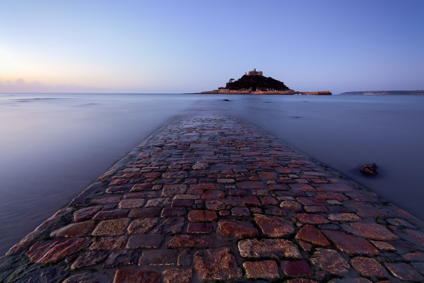 St Michael\'s Mount at Dawn by Steve-T
