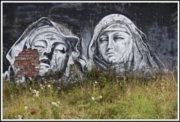 Urban decay of urban graffiti