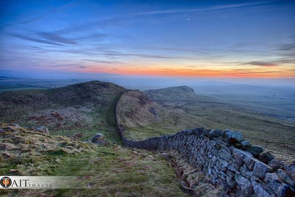 Hadrian wall by staituk