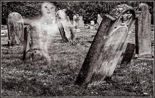 Haunted Graveyard by fentiger