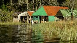 Boathouses - Loch Ard