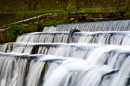 Monsal Head Step Weir by MiffMaff