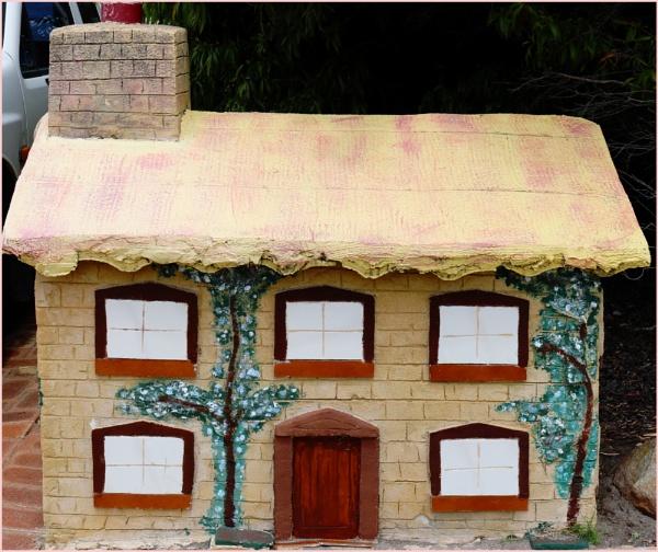 Cottage Letter Box by Jocelia