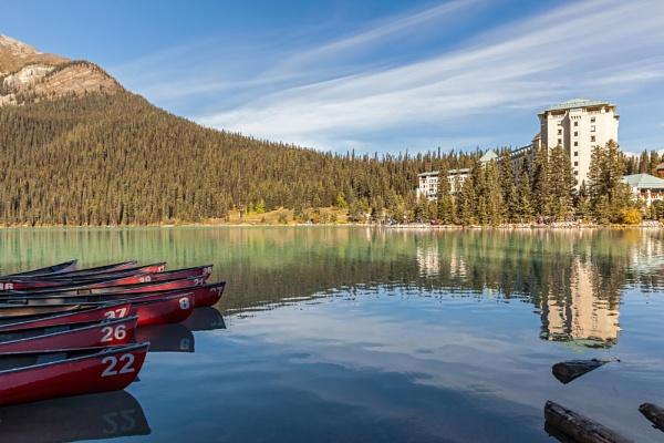 Fairmont Chateau, Lake Louise by pdunstan_Greymoon