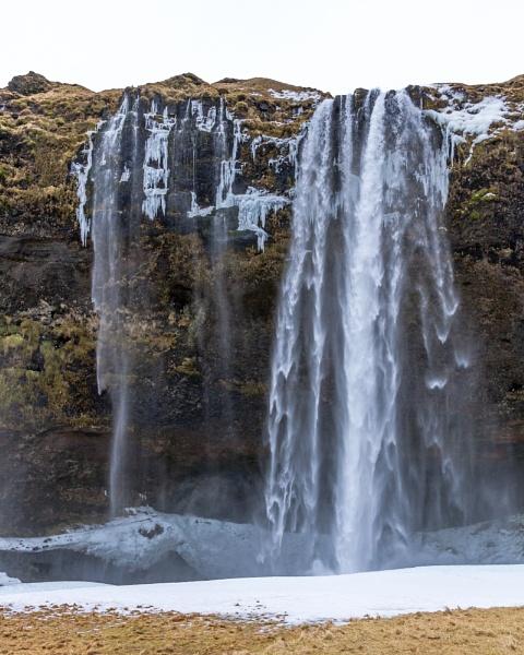 Seljalandsfoss Waterfall, Iceland by pdunstan_Greymoon