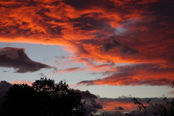 Sky Fire by tonyguitar