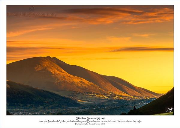 Skiddaw Sunrise by MunroWalker