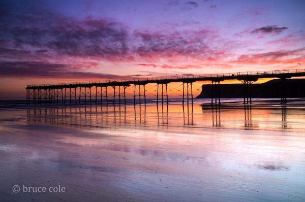 saltburn sunrise by bcole01
