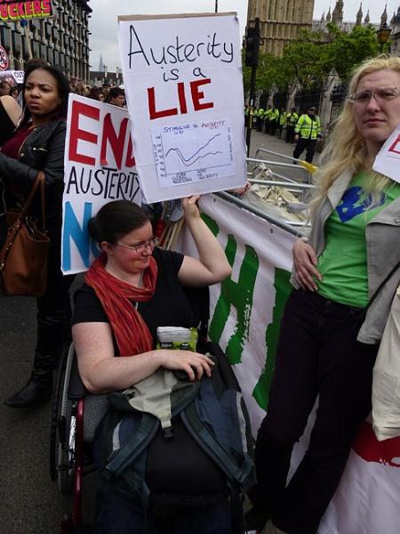 Austerity is a Lie by kombizz
