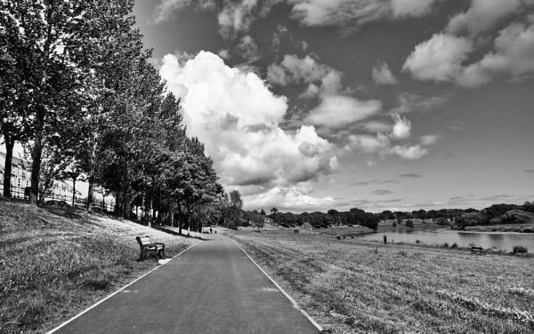 Path along River Dee in Aberdeen by betttynoir
