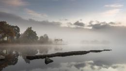 Misty morning at Kinlochard