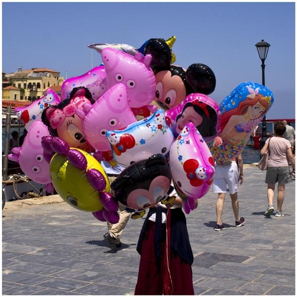 Balloon Seller by badgerwil70