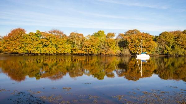 autumn in  ramelton by johnheaney