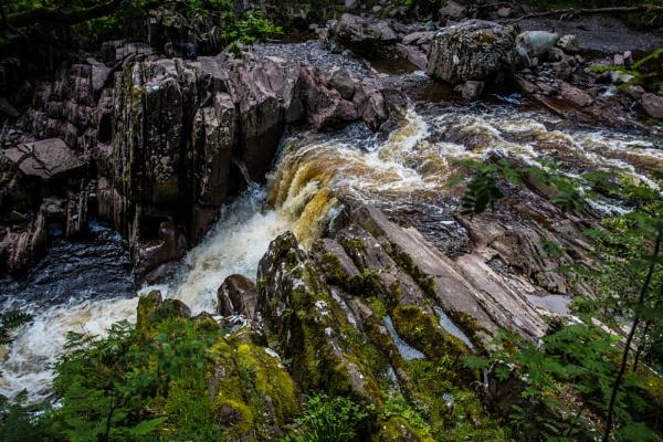 Bracklinn Falls by MVL