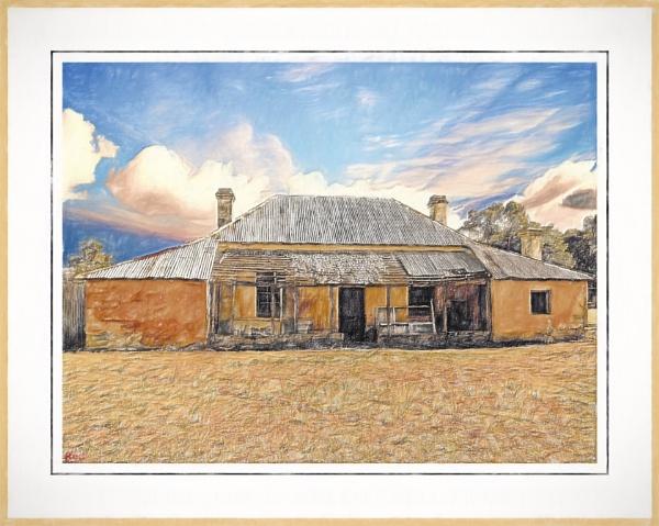 Ye Old Dwelling. by WesternRed