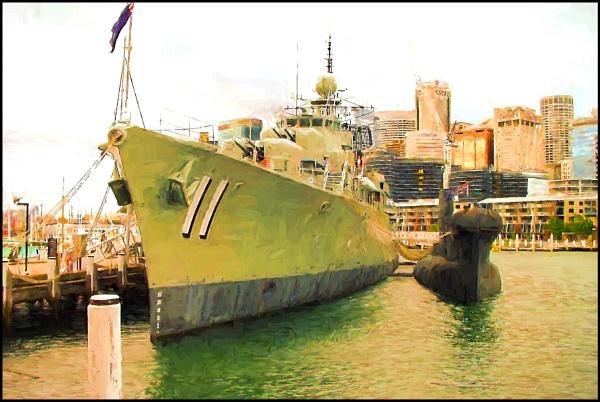 Sydney Ship Yard#. by WesternRed
