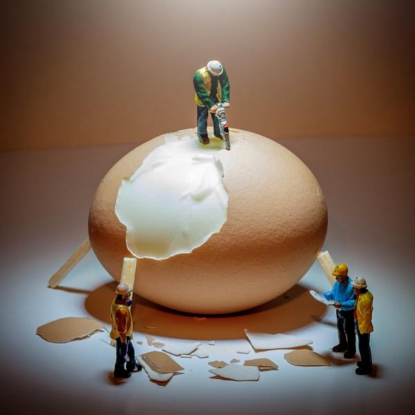 Eggscavation by julesm