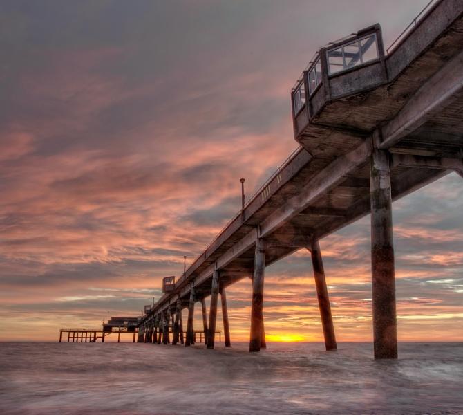 Sunrise Under The Pier