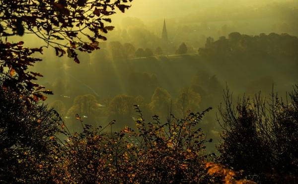 Autumn Light over Edensor by Fefe