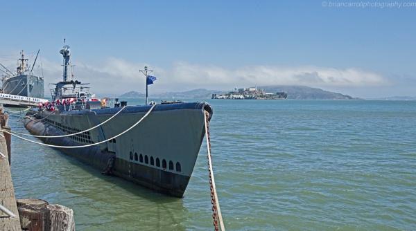 USS Pampanito Submarine & Alcatraz, San Francisco by brian17302