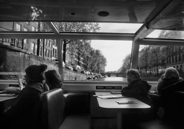 Canal Cruise, Amsterdam by Hamlin