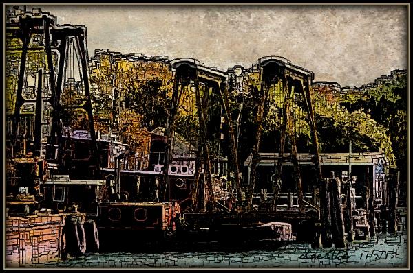 At the Marina by doerthe