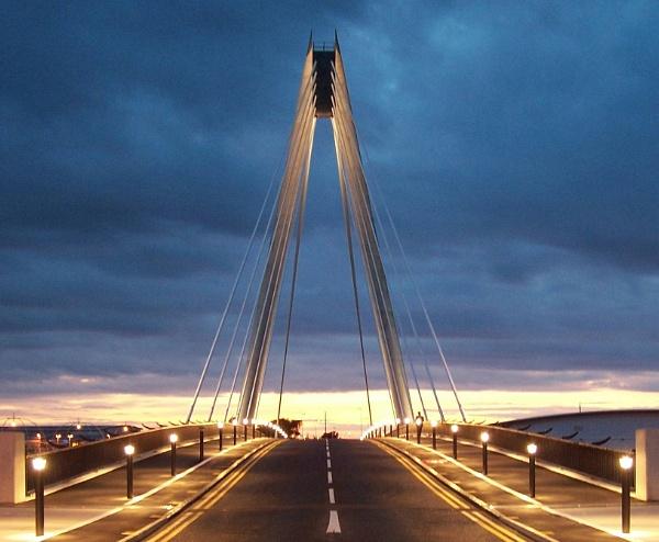 Southport Bridge by bluefalcon