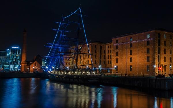 Dockland Illuminated by Alffoto