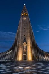 Hallgrimskirkja Church Reykavik