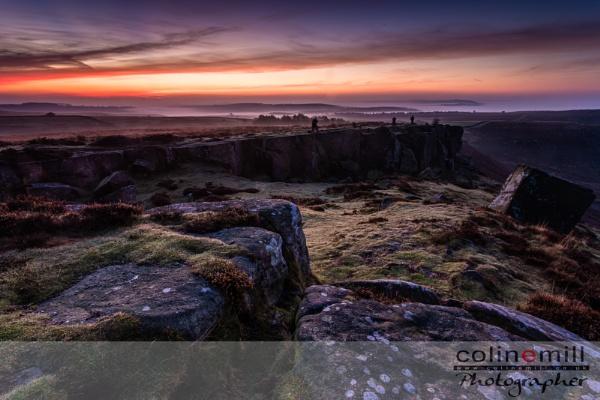 Curbar Dawn by BigCol