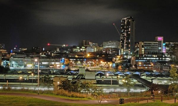 Sheffield Skyline by Kirkby