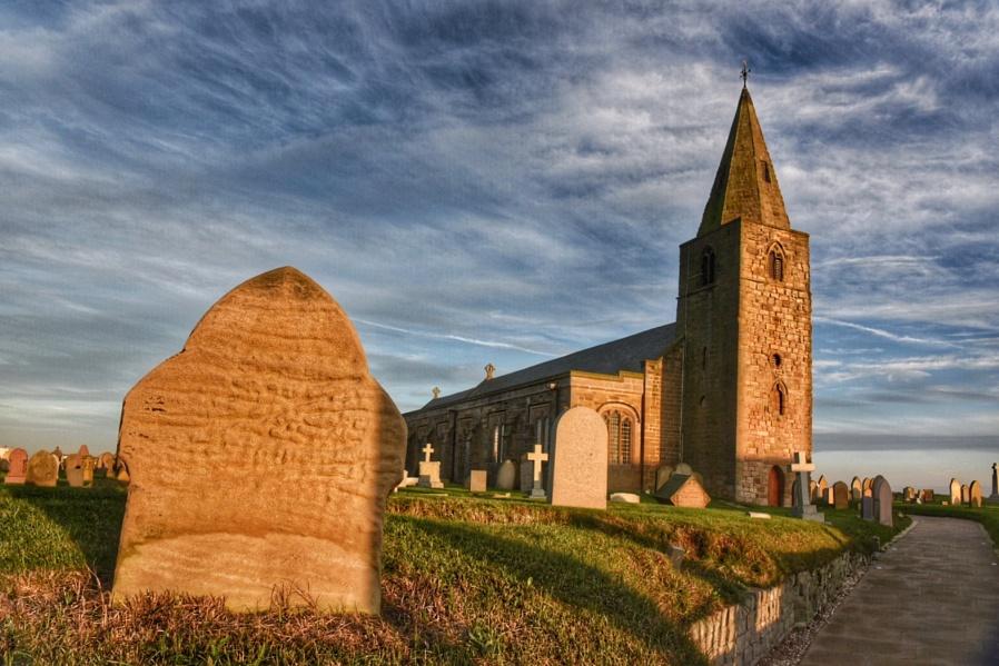 Church point at Newbiggen