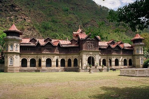 Rampur Palace by prabhusinha