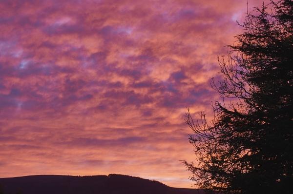 Early morning sky by Meditator