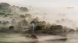 Farm in the Mist, Peak District