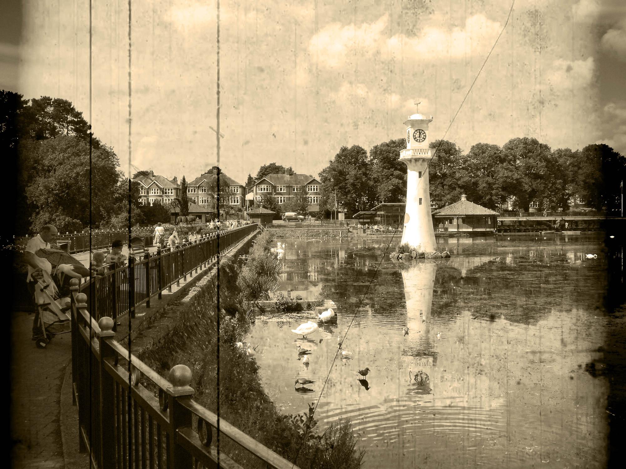 Roath Park Lake, Cardiff, [circa 2015]