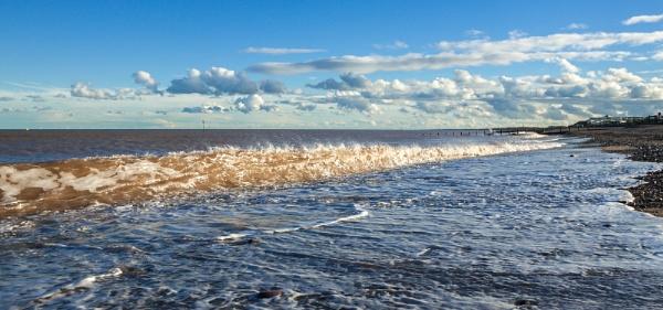 Hornsea, November sunshine by oddlegs