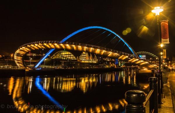 millenium bridge newcastle by bcole01