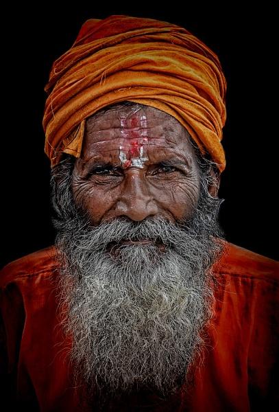 hindu sadhu by sawsengee